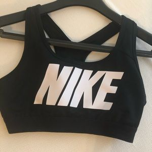 Nike pro sports bra (big logo)